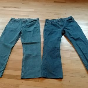 Two pair of Urban Pipeline jeans